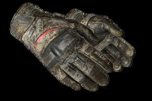 Moto Gloves Boom Battle Scarred