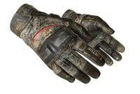 ★ Moto Gloves   Boom! (Battle-Scarred)