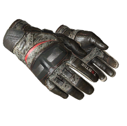 ★ Moto Gloves | Boom! (Well-Worn)