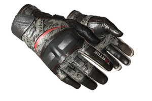 Moto Gloves Boom Minimal Wear