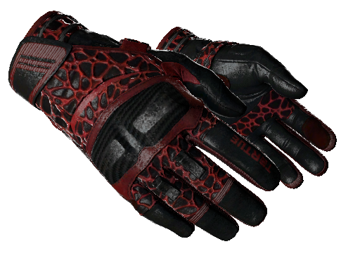 ★ Moto Gloves | Blood Pressure (Battle-Scarred)