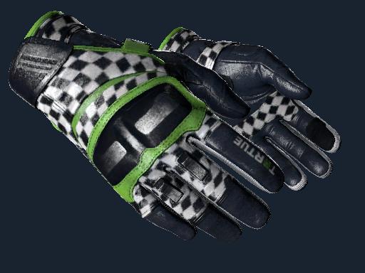★ Moto Gloves | Finish Line (Battle-Scarred)