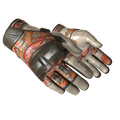 ★ Moto Gloves | POW! <br>(Well-Worn)