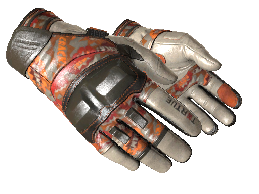 ★ Moto Gloves | POW! (Battle-Scarred)