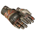 ★ Moto Gloves | POW! <br>(Battle-Scarred)