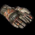 ★ Moto Gloves | POW! (Battle-Scarred)