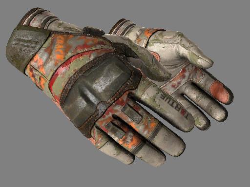 Moto Gloves | POW! Battle-Scarred