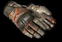 ★ Moto Gloves   POW! (Battle-Scarred)