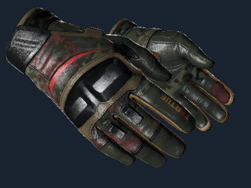 ★ Moto Gloves | 3rd Commando Company (Battle-Scarred)