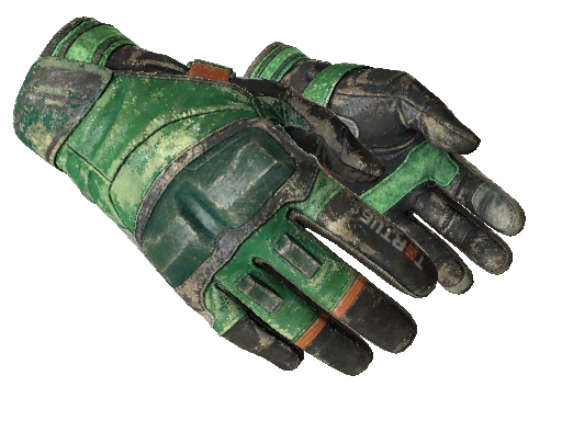 ★ Moto Gloves | Turtle Battle-Scarred