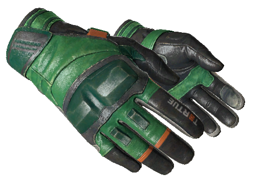 ★ Moto Gloves | Turtle (Well-Worn)