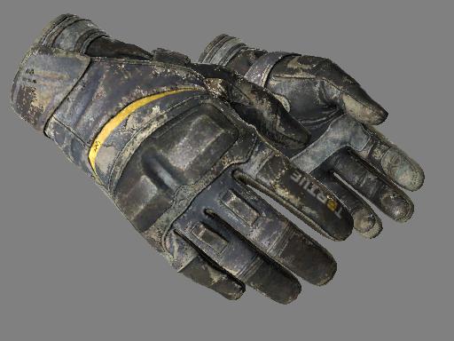 Moto Gloves | Eclipse Battle-Scarred