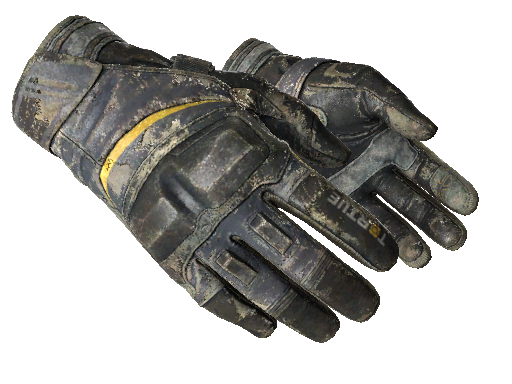 ★ Moto Gloves | Eclipse (Battle-Scarred)