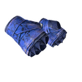 ★ Hand Wraps | Cobalt Skulls <br>(Battle-Scarred)