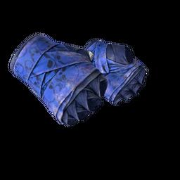 Hand Wraps | Cobalt Skulls