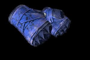 Hand Wraps Cobalt Skulls Battle Scarred