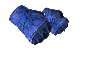 Hand Wraps Cobalt Skulls Field Tested