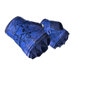 ★ Hand Wraps | Cobalt Skulls <br>(Well-Worn)