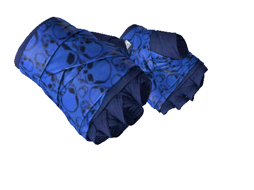 ★ Hand Wraps | Cobalt Skulls (Factory New)