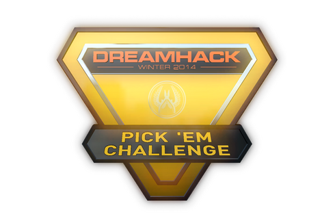 Gold DreamHack 2014 Pick'Em Trophy Prices