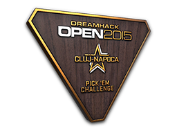 Bronze Cluj-Napoca 2015 Pick'Em Trophy