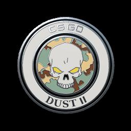 free csgo skin Dust II Pin