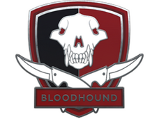 Skin Bloodhound Pin