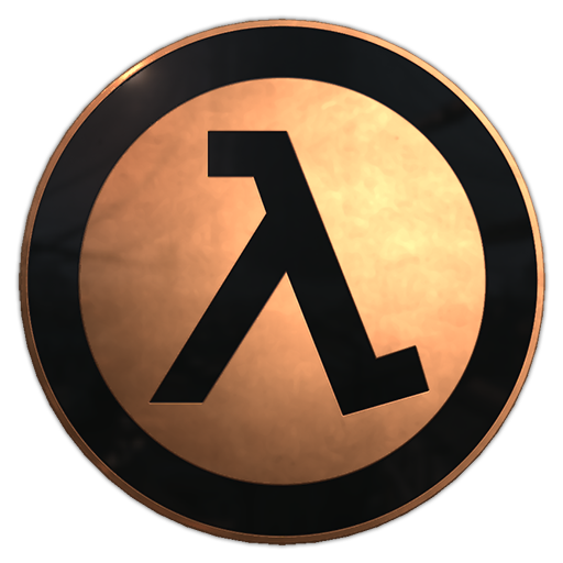 Copper Lambda Pin