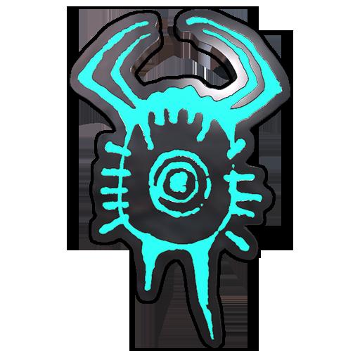 猎头蟹符文胸章
