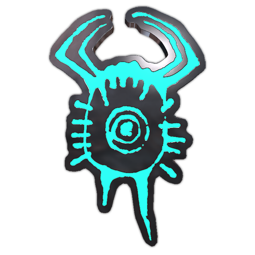Headcrab Glyph Pin