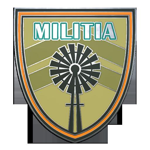 Militia Pin