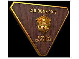 Bronze Cologne 2016 Pick'Em Trophy