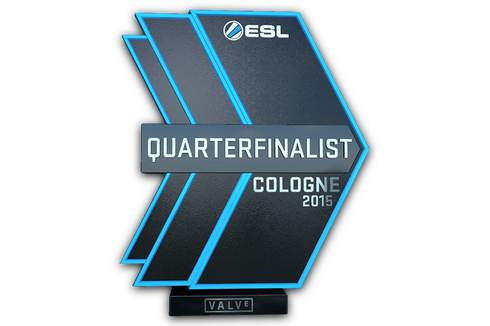 Quarterfinalist at ESL One Cologne 2015 Prices
