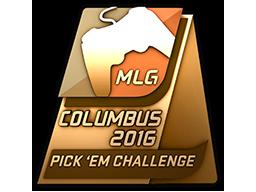 Bronze Columbus 2016 Pick'Em Trophy