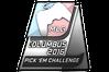 Silver Columbus 2016 Pick'Em Trophy