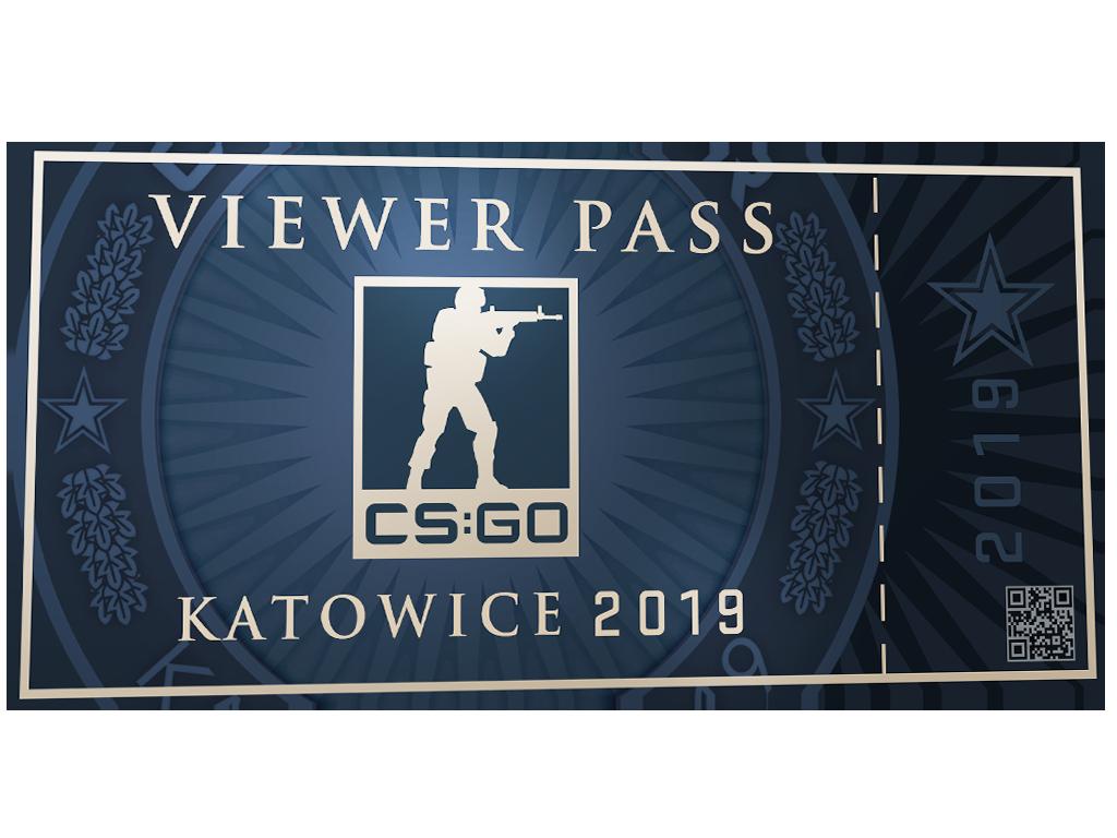 Пропуск зрителя IEM Katowice 2019