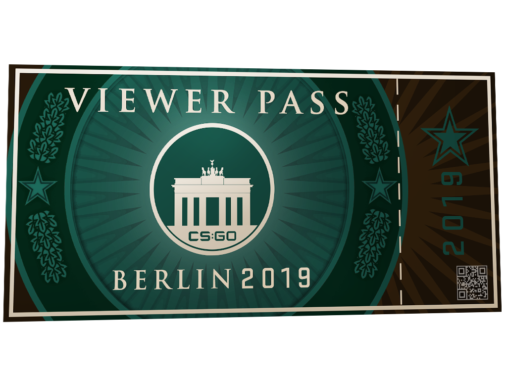 Пропуск зрителя StarLadder Berlin 2019