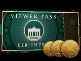 Berlin 2019 Viewer Pass + 3 Souvenir Tokens