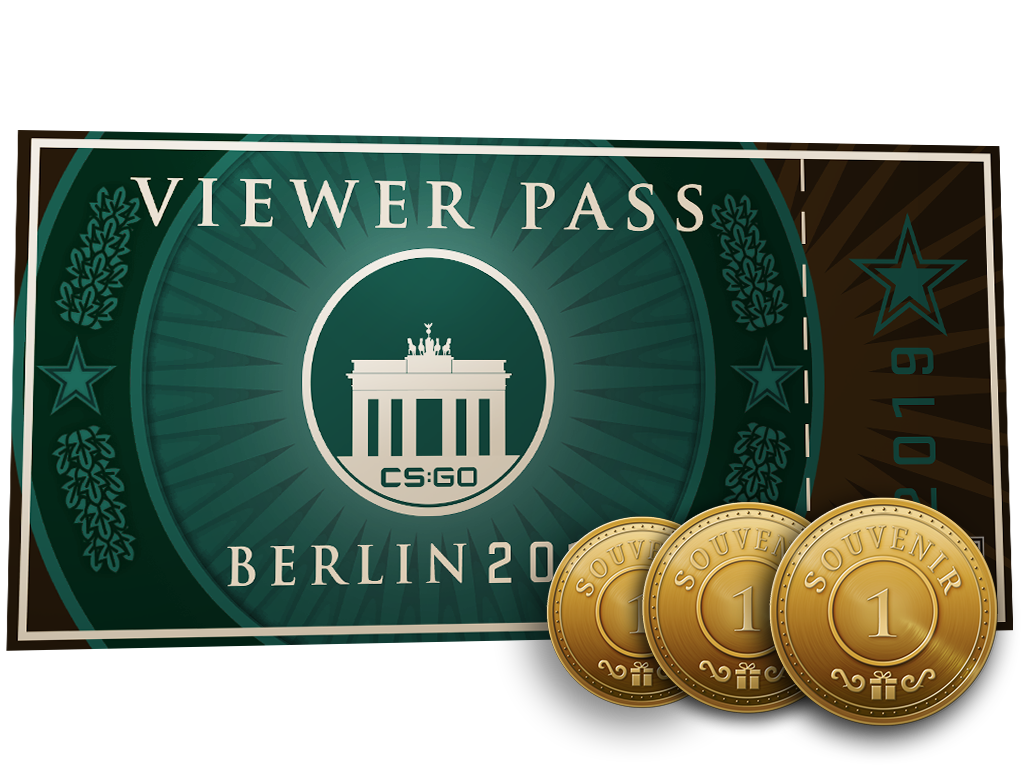 Пропуск зрителя StarLadder Berlin 2019 + 3 сувенирных жетона