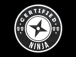 Sticker | The Ninja