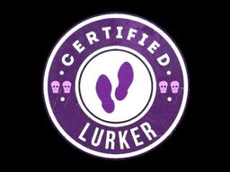 Sticker | The Lurker