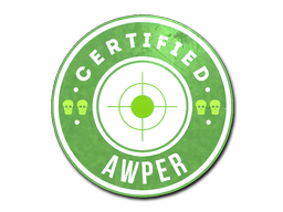 Sticker | The Awper