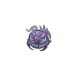 Sticker | Tyranids Hive Tyrant (Holo)