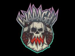 Sticker | Ork Waaagh!
