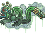 Skin Sealed Graffiti | Fire Serpent