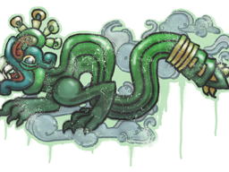 Sealed Graffiti | Fire Serpent