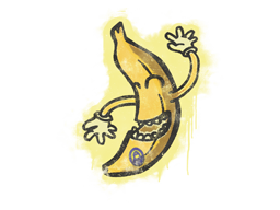 Sealed Graffiti | Banana