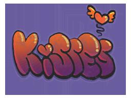 Запечатанный граффити | Поцелуйчики