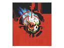 Sealed Graffiti   Skull n' Crosshairs
