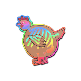 Poorly Drawn Chicken (Holo)